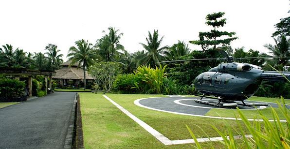 Viceroy Bali - Piste Helico