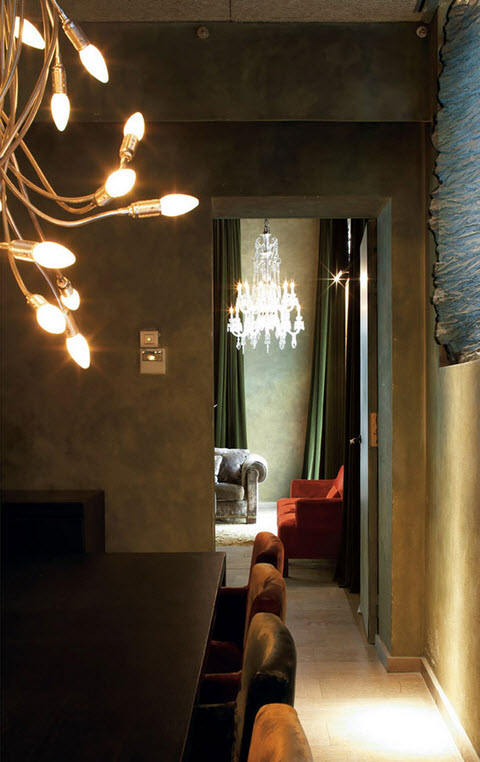 Hotel Neri Barcelone - Hall et salon privé