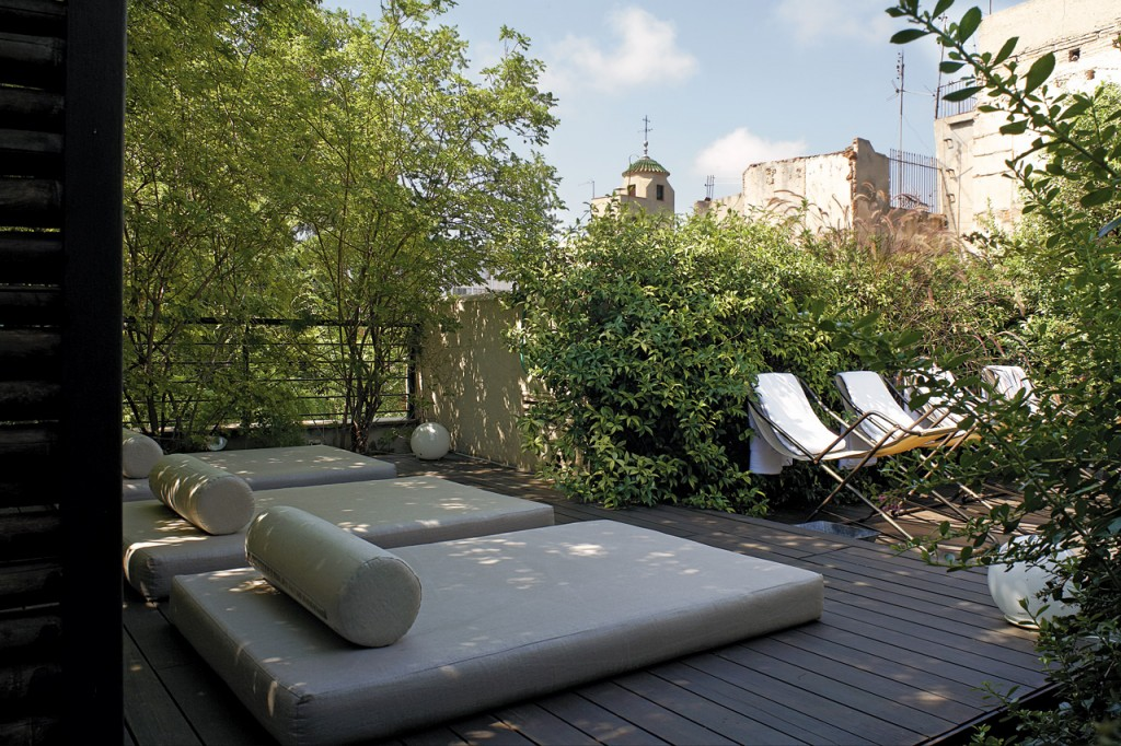 Hotel Neri Barcelone - Terrasse privée