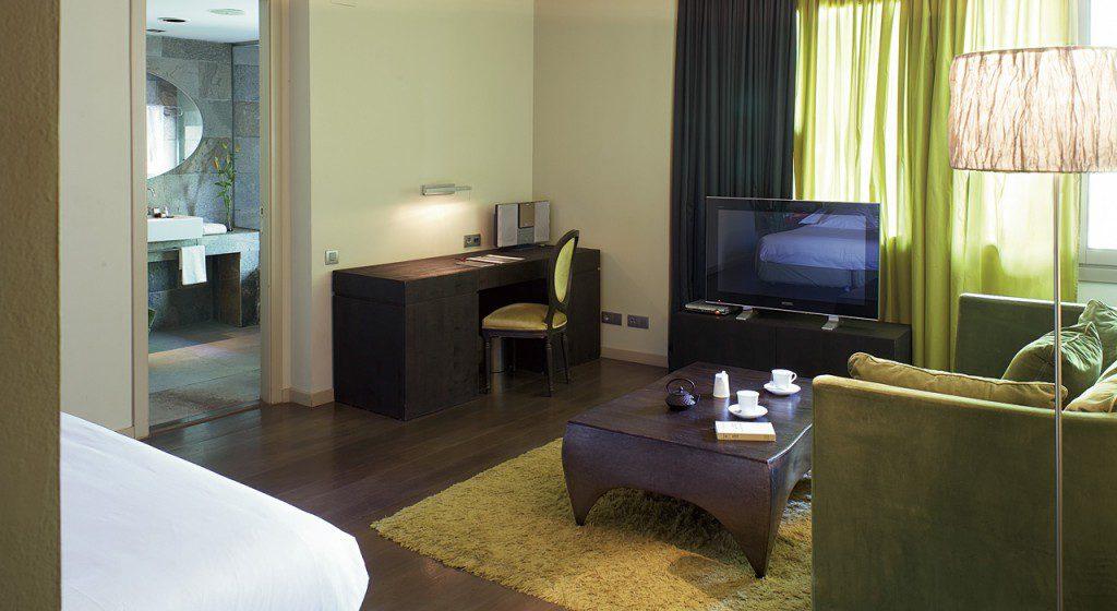Hotel Neri Barcelone - salon suite junior