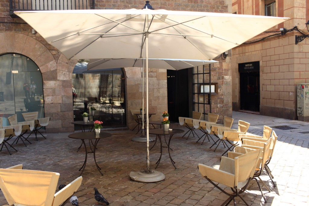 Hotel Neri Barcelone - terrasse Bar