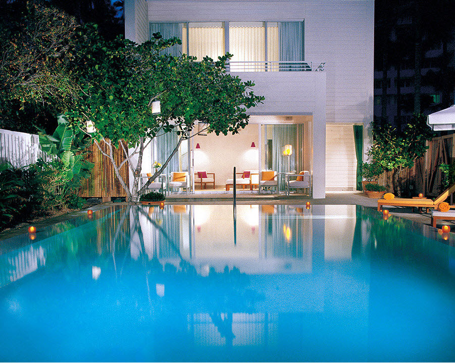 Shore Club South Beach Miami - Beach house pool