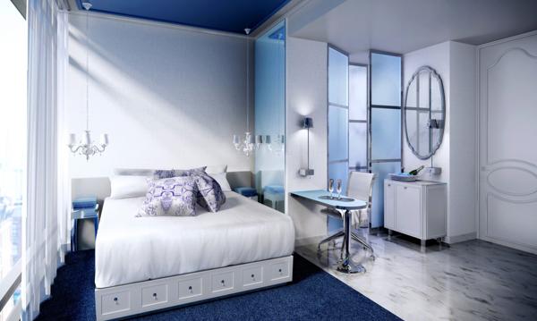 h tel nomo soho new york un design incroyable. Black Bedroom Furniture Sets. Home Design Ideas