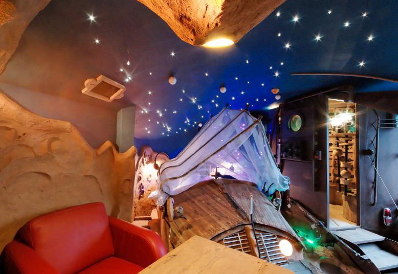 hotel la balade des gnomes - chambre lune