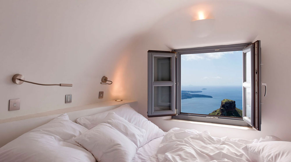 Hotel Kapari Imerovigli Grece - premium room