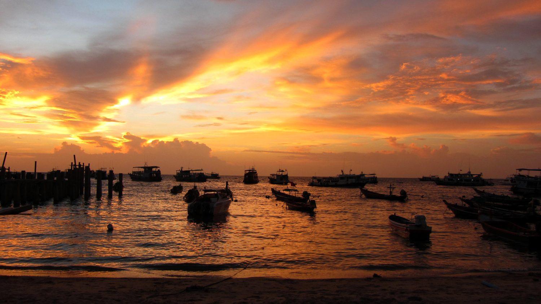 Koh Tao - Sunset view