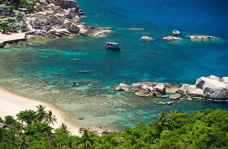 koh tao - tanote bay - thailande