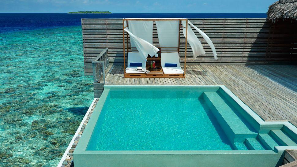 Hotel dusit thani maldives Ocean villa with pool 2