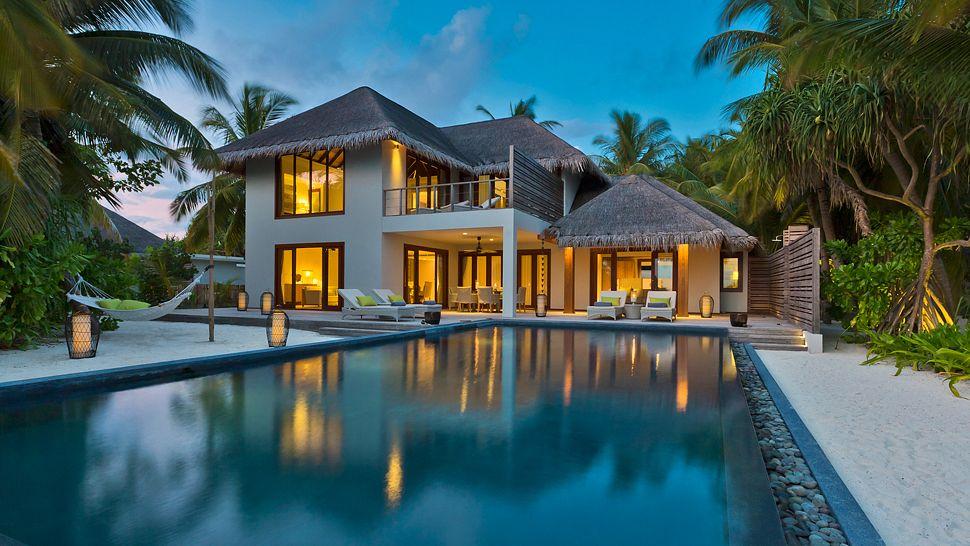 Hotel dusit thani maldives- Two bedroom beach residence