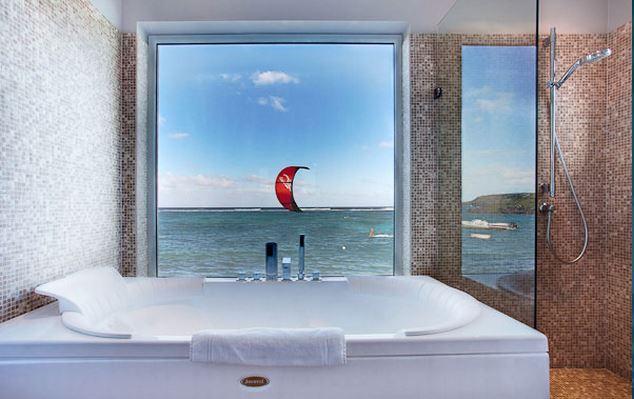 Hotel Guanahani Saint Barth - suite signature amiral salle de bain