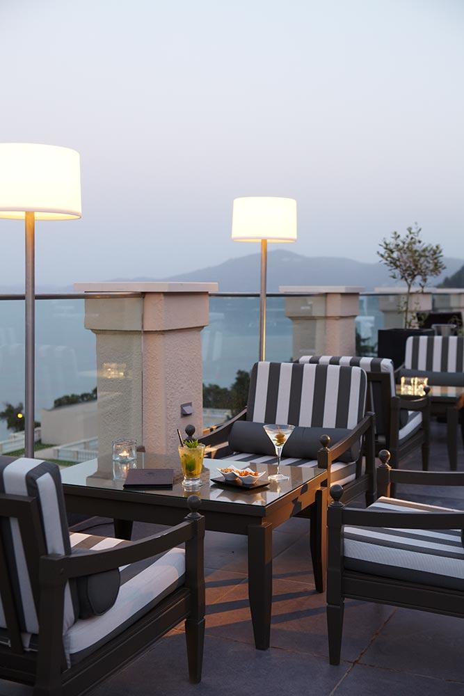 Hotel Marbella Corfou Grece - Bar Le Belvedere