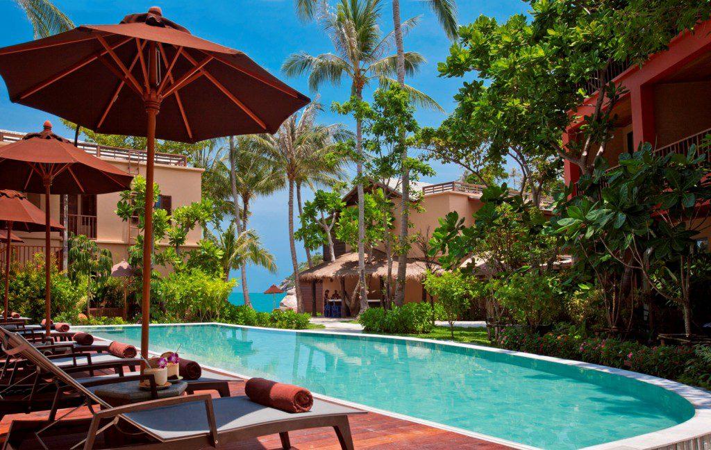 Koh Phangan - Hotel Buri Rasa piscine