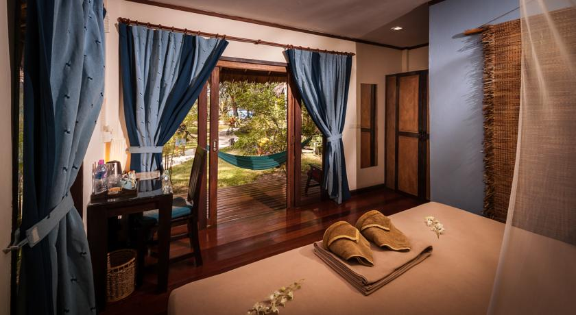 Koh Phangan - hotel baan manali chambre interieur