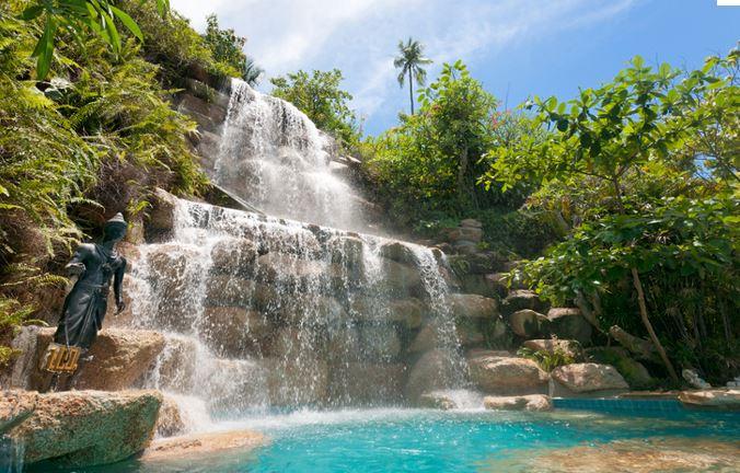 Koh Phangan - Waterfall