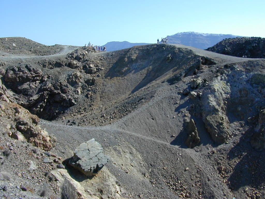 santorin volcan