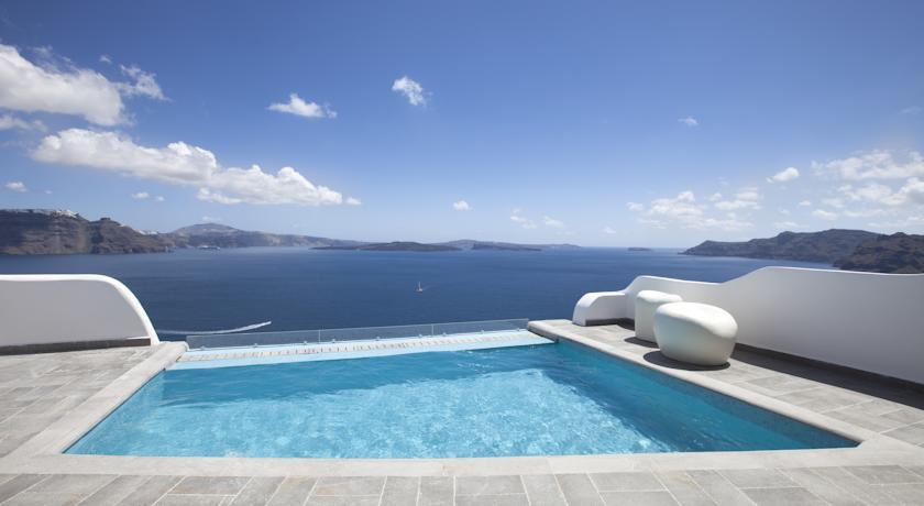 santorin - Hotel Santorini Secret - Oia piscine