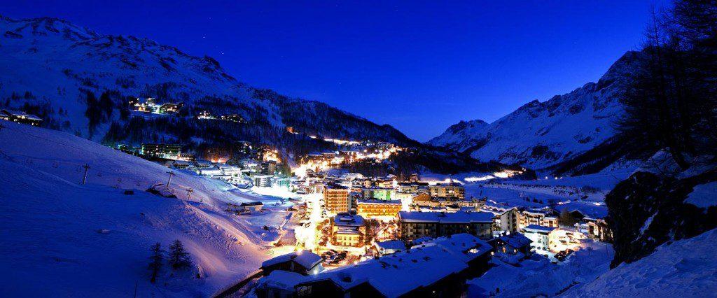 hôtels des stations de ski tendance