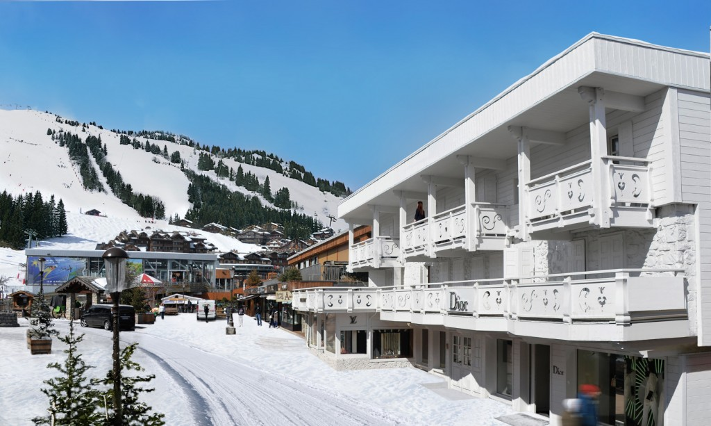 hôtel ski - hotel white courchevel - hotel