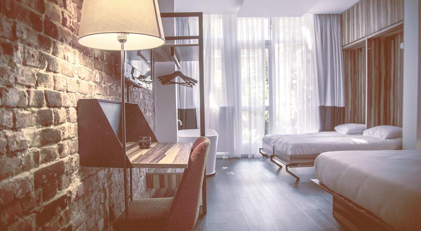 Chambre de The Arcade Hotel Amsterdam un hôtel 3 étoiles à Amsterdam