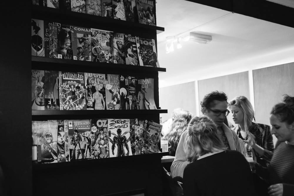 Bibliothèque de Comics à The Arcad Hotel à Amsterdam