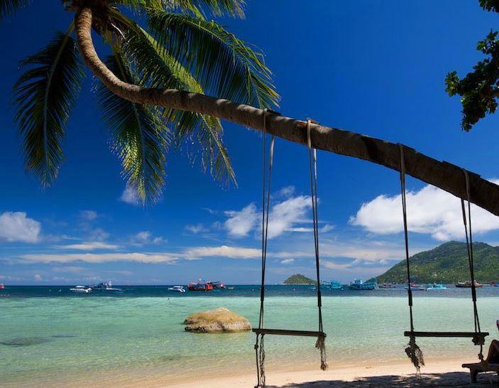 Koh Tao Hotel Sensi Paradise Beach plage Mae Haad Bay