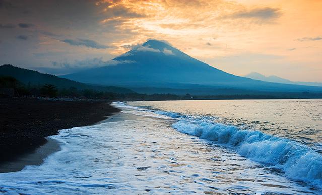 Bali Amed volcan gunung agung