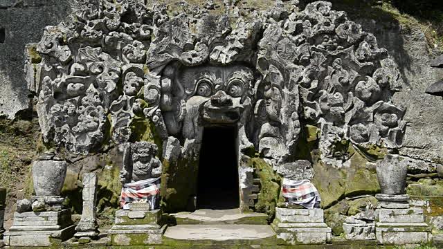 Bali Temple Goa Gadjah