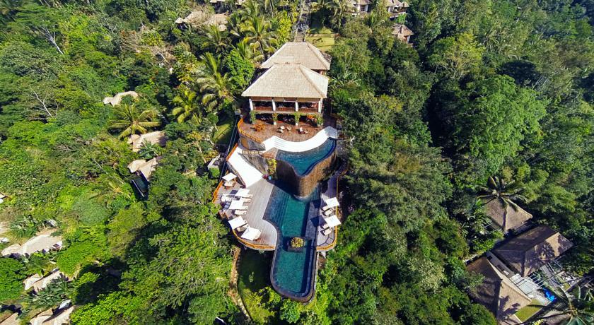 Bali Ubud Hotel Hanging Gardens Panoramique