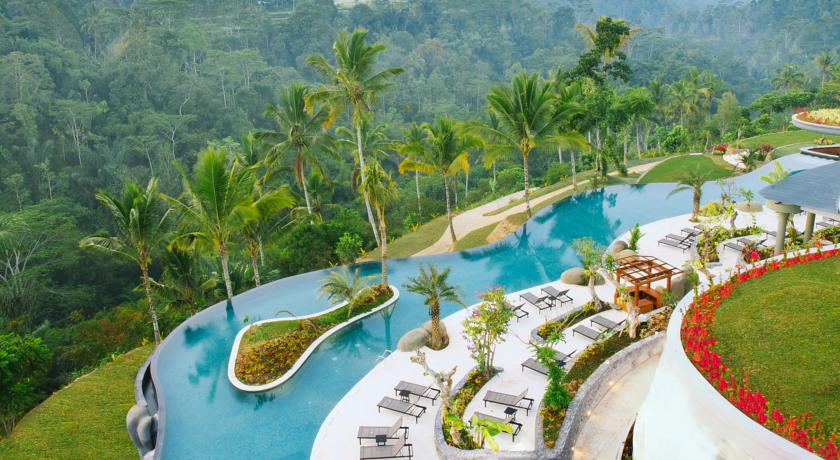 Bali Ubud Hotel Padma Resort piscine