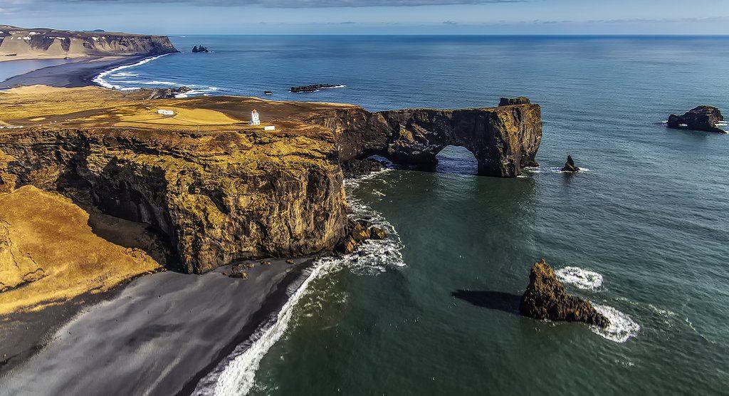 dyrholaey en Islande