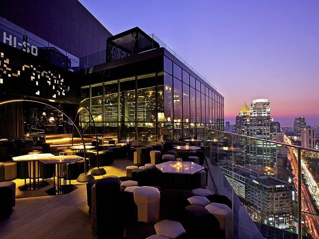 Bar Rooftop de l'hotel So Sofitel Bangkok