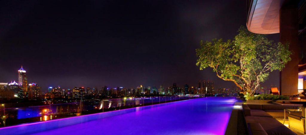 Piscine de l'hotel So Sofitel Bangkok