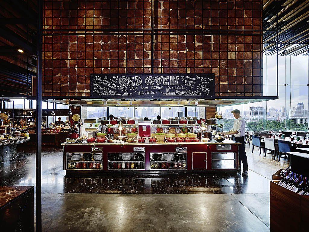 Restaurant de l'hotel So Sofitel Bangkok