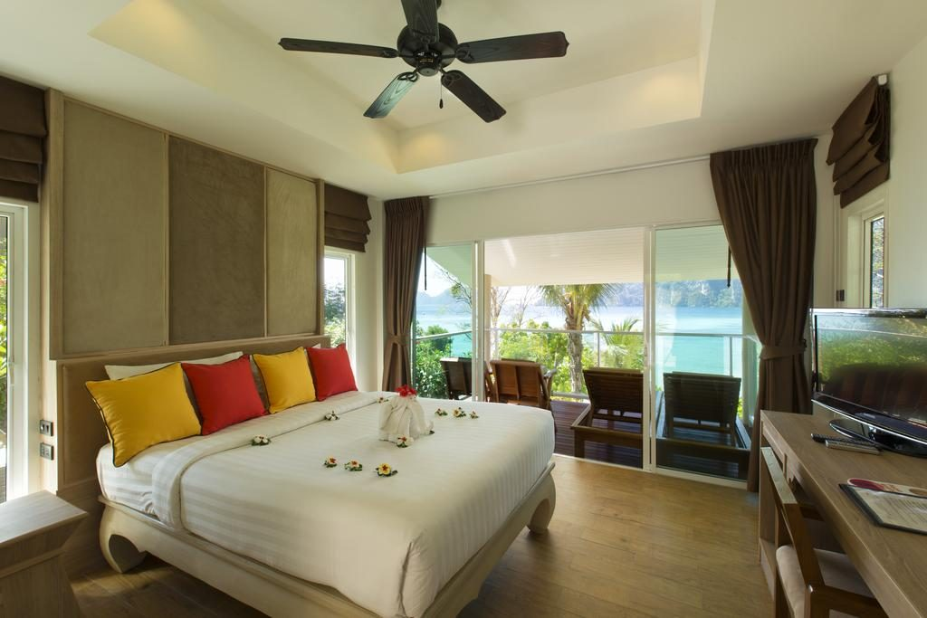 Koh Phi Phi - Hotel Bay View Resort Chambre