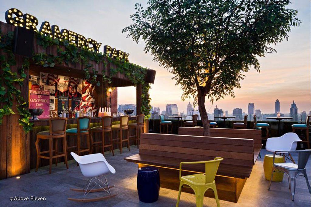 Rooftops Bars - Above Eleven de l'hôtel Fraser Suites Sukhumvit