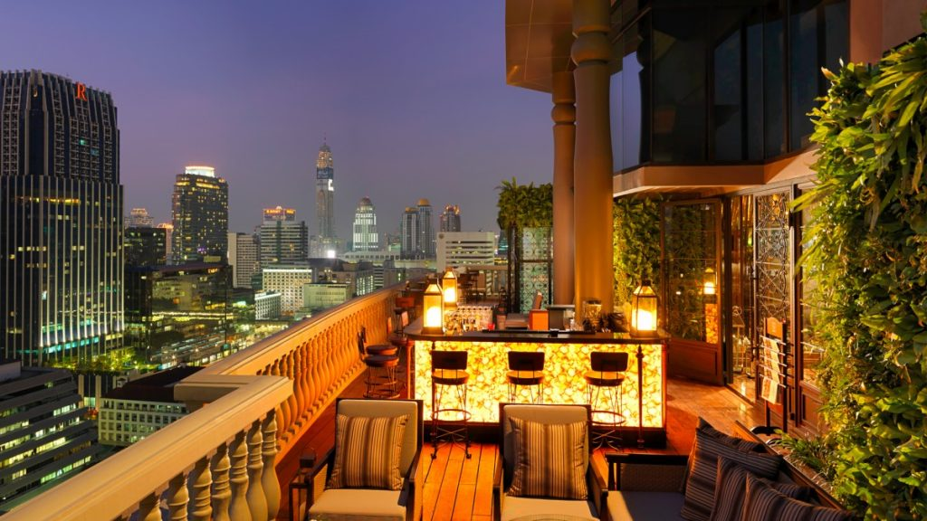 Rooftops Bars - Speakeasy hotel muse