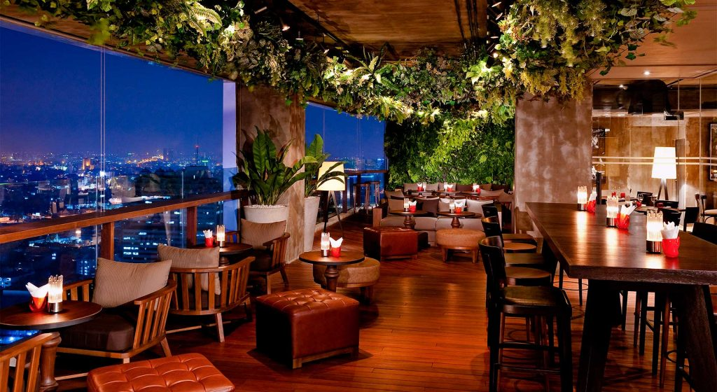 Rooftops Bars - Scarlett Wine Bar et Restaurant du Pullman