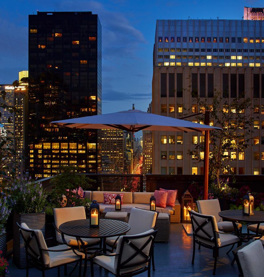 Hôtels à New York - Terrasse de l'hôtel Peninsula