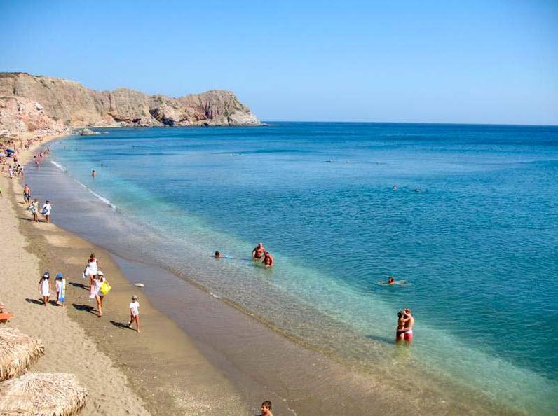 Milos - plage Palioxori