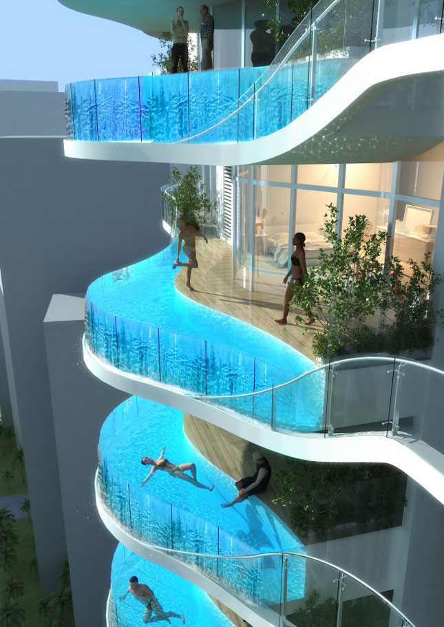 Piscines - hors norme balcon 2