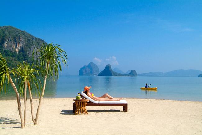 plage snorkeling Hotel El Nido Resort