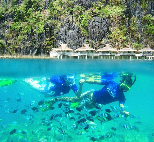 snorkeling Activité Hotel El Nido Resort