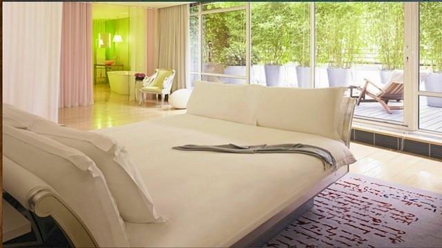 Hotel sanderson - chambre5