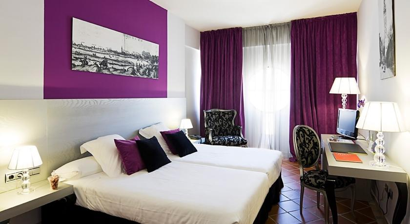 hotel los seises - chambre rose 2