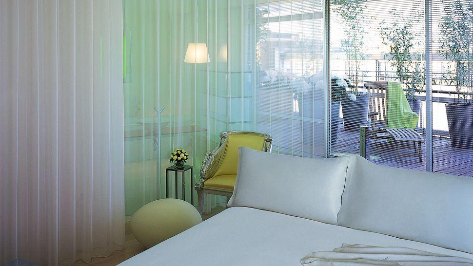 hotel sanderson - chambre avec Balcon