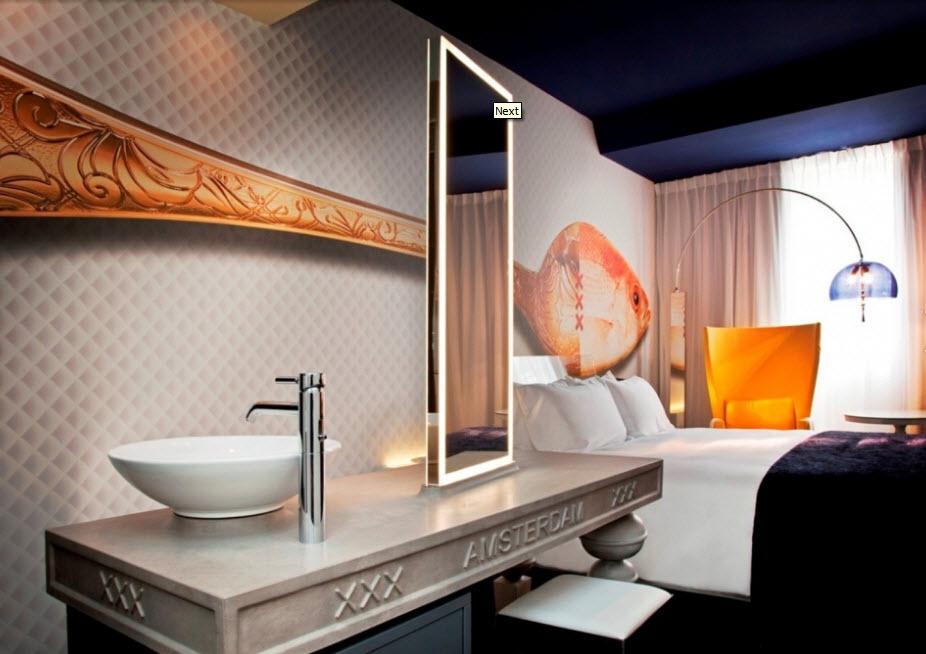 Andaz Hotel - Chambre poisson2