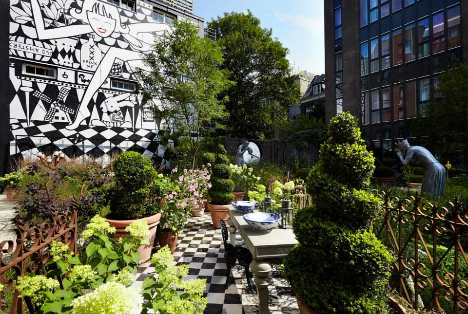 Andaz hotel - jardin