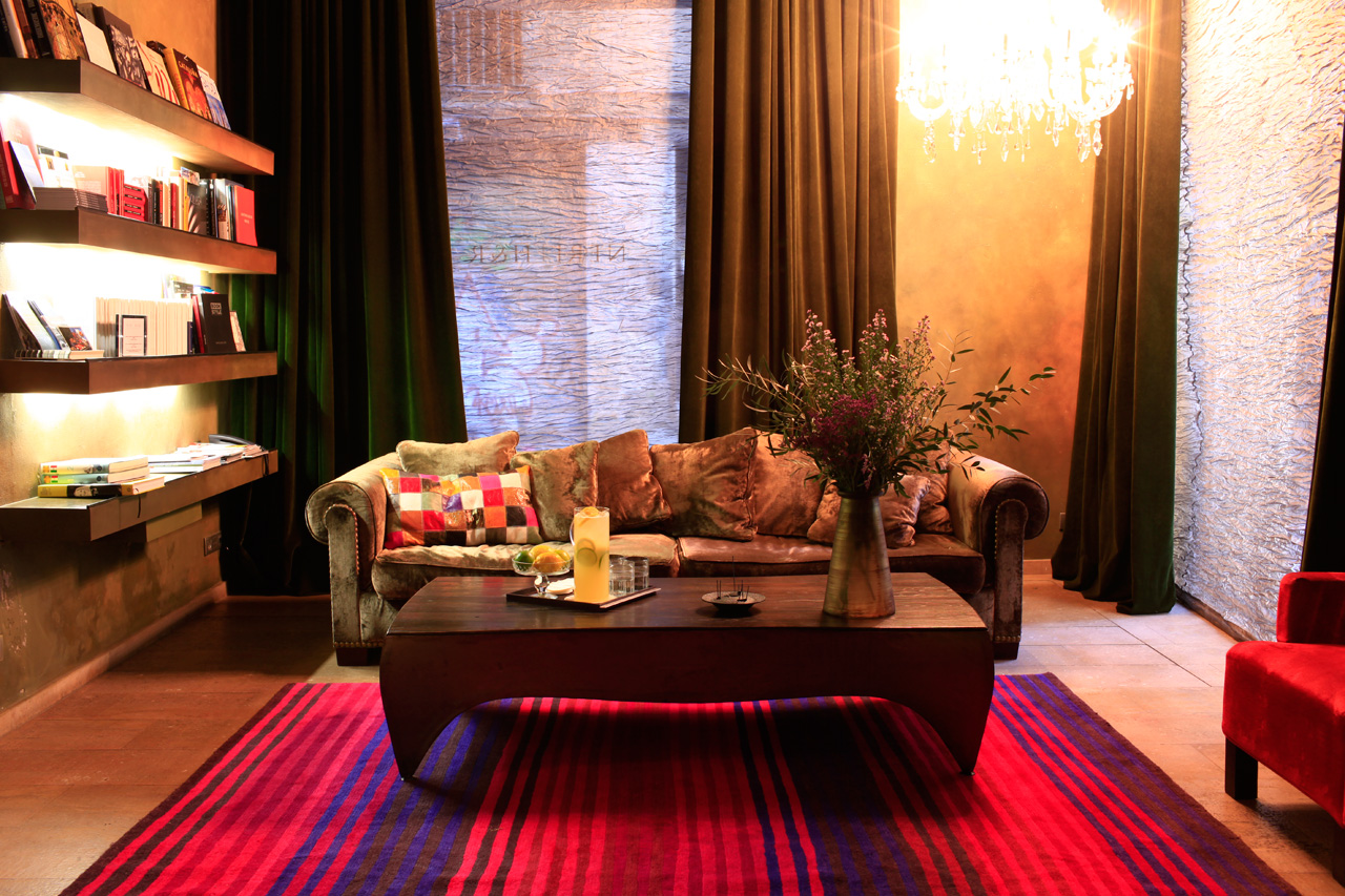 Hotel Neri Barcelone- Bibliotheque