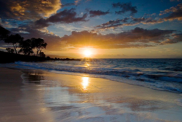 Maui Hawaii - Maluaka Beach Wailea Makena