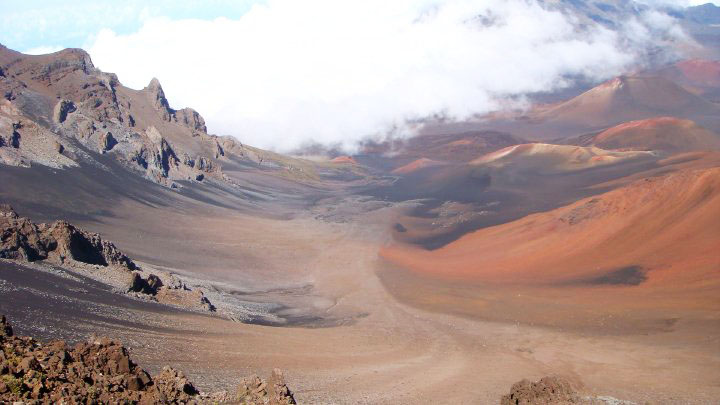 Maui Hawaii - volcan Haleakala